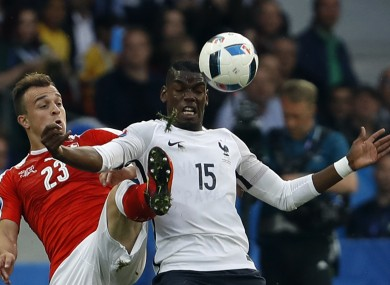 France and Switzerland were happy to play out a goalless draw.
