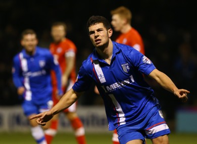 Egan impressed for Gillingham during two seasons at the club.