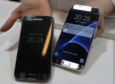 Smartphones like the Samsung Galaxy S7 have encryption enabled by default, but you should always check just in case.