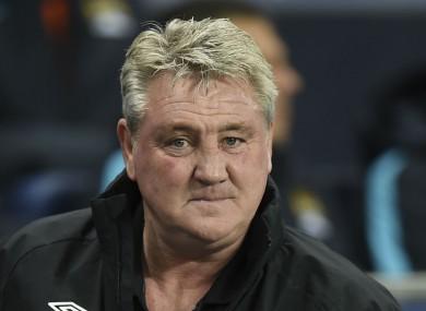 Hull City manager Steve Bruce.