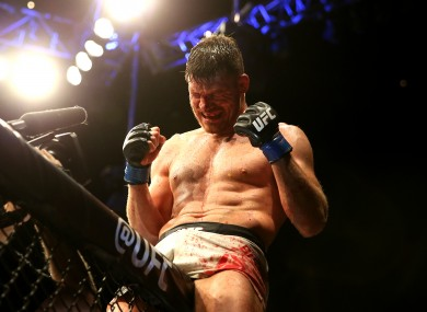 Bisping: set to have his first defence later this year.