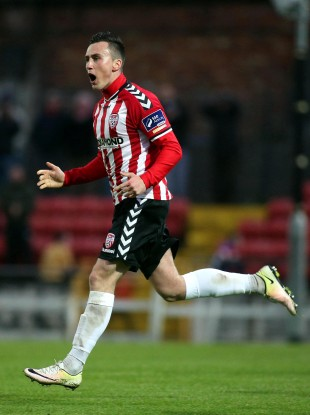 Aaron McEneff has impressed for Derry this season.