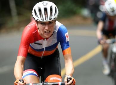 Dutch cyclist Annemiek van Vleuten