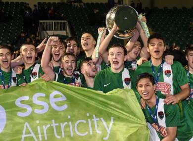 Cork won the U19 league last year.