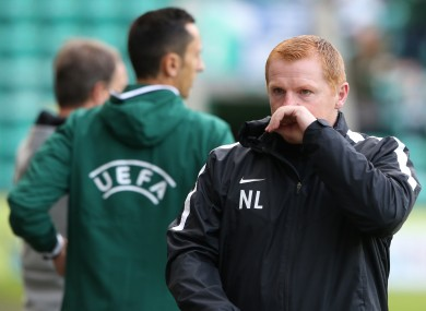 Lennon was left incensed by a disallowed goal.