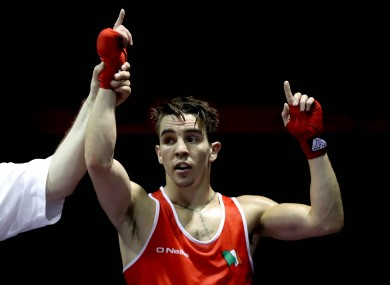 Michael Conlan gets his Olympic campaign under way today.