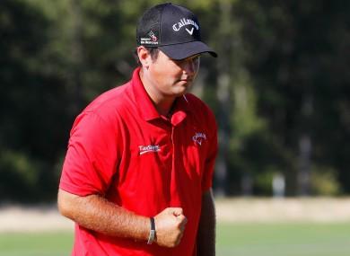 American golfer Patrick Reed
