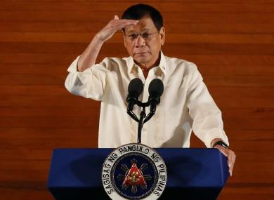 Image result for Philippines president falsely imprisoned
