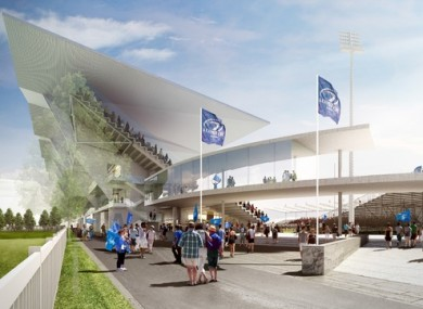 What architects said the RDS will look like on completion when plans were first released.