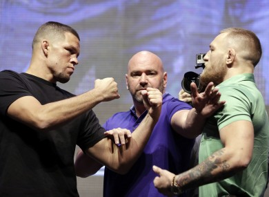 The event promises to be one of the biggest in UFC history.