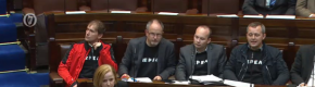 TDs from AAA-PBP wear 'Repeal' sweatshirts in Dáil