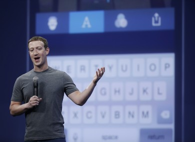 Facebook CEO Mark Zuckerberg discusses Whatsapp and Facebook Messenger in San Francisco last year.