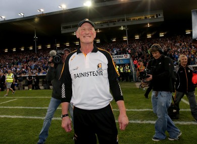 Brian Cody savours the winning feeling after Kilkenny's semi-final replay victory over Waterford.