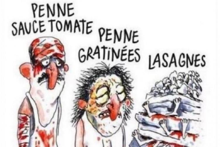 Italian Village To Sue Charlie Hebdo Over Tactless Earthquake - 24 powerful cartoon responses charlie hebdo shooting