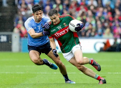 Dublin and Mayo could not be separated after an absorbing All-Ireland SFC final today.