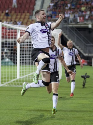 Kilduff: equaliser guaranteed Dundalk an extra €120k in prize money.