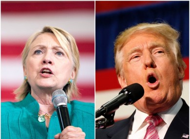 Clinton and Trump go head-to-head tonight