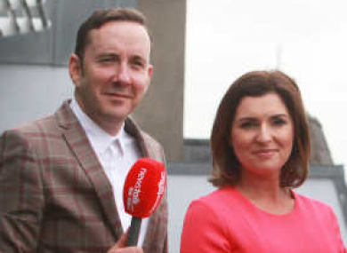 Shane Coleman and Colette Fitzpatrick