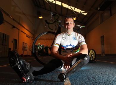 Irish cyclist Colin Lynch.