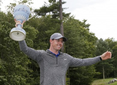 McIlroy: ended long PGA Tour drought in Boston on Monday.