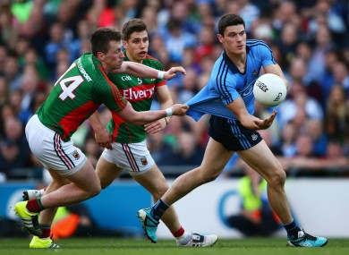 O'Connor, Keegan and Connolly: three men who will be crucial in deciding the latest installment of Dublin v Mayo.