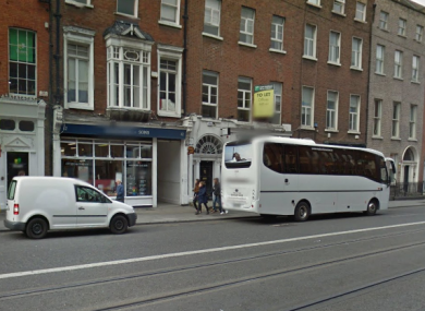 The location of the Dublin School of English on Harcourt Street