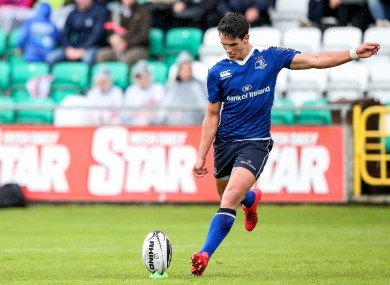 Joey Carbery will start his first Leinster game tomorrow night.