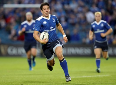Carbery runs in his second try.