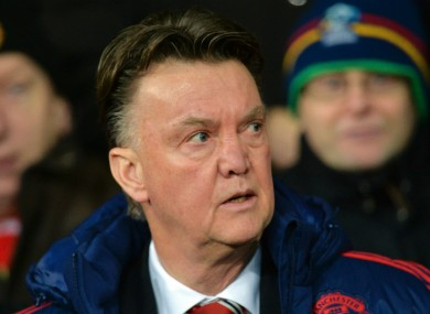 Former Manchester United manager Louis van Gaal allegedly broke down when he was sacked by Barcelona.