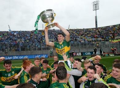 Last year's Kerry minor football captain Mark O'Connor.