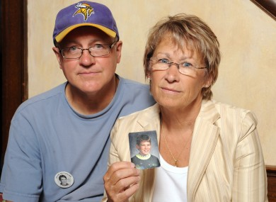 The boy's parents Patty and Jerry Wetterling.