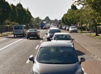 The Navan Road is closed between Nephin Road and Kinvarna Avenue.