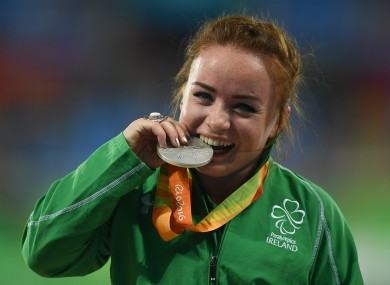 The sweet taste of success for Niamh McCarthy.
