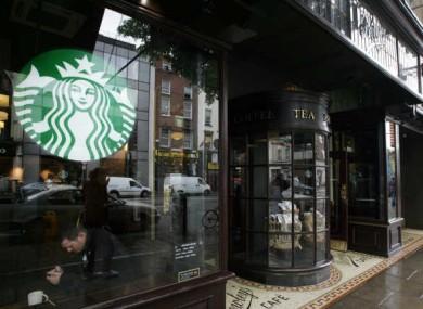 Starbucks on Dublin's Westmoreland Street.