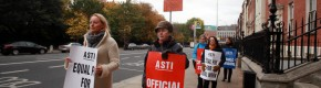 """An extremely provocative act"": ASTI hits out at decision to take striking teachers off the payroll"