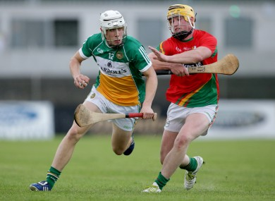 Ronan Hughes, in action here for Offaly, scored the decisive goal.