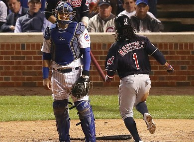 Cleveland Indians beat Chicago Cubs in game three of World Series