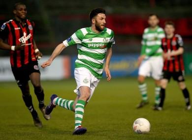 Killian Brennan has left Shamrock Rovers.