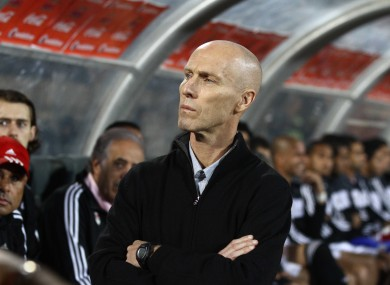 Bradley when in charge of Egypt in 2013.