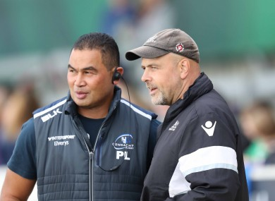 McFarland was previously part of Pat Lam's staff at Connacht.