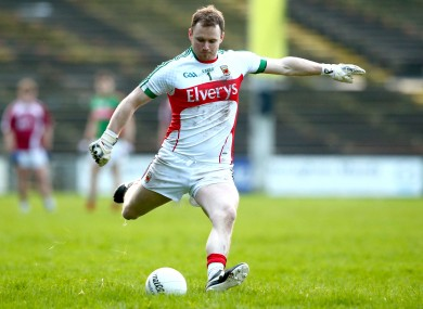 Robert Hennelly scored two points for Breaffy.