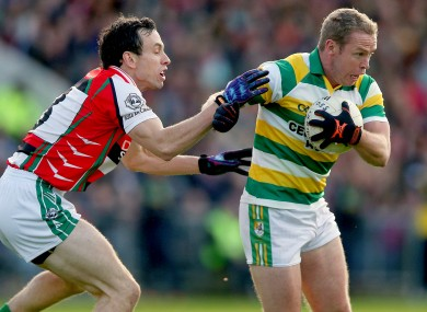 Ballincollig's Liam Jennings and Carbery Rangers Seamus Hayes will be in opposition again.