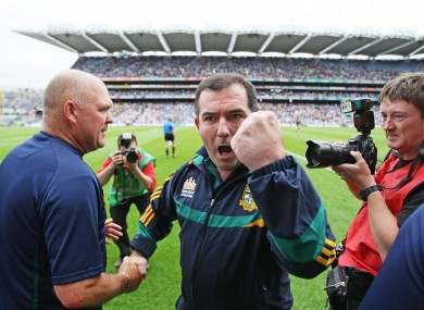 McEnaney: stepped down as Meath manager after the 2012 Championship.