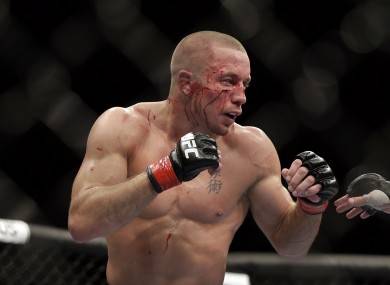 GSP retired and vacated the UFC welterweight title back in 2013.