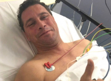 Steven Woolfe recovers in hospital