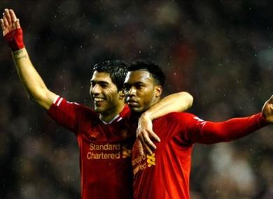 Suarez and Sturridge formed a potent strike partnership at Liverpool.