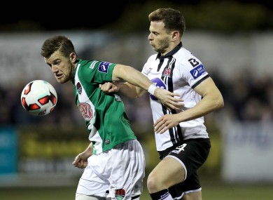 The recent Ireland squad call-ups shows that the quality of the league is improving.