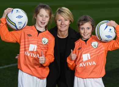 Sue Ronan will coach the national side for the final time today.