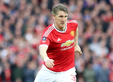 The German last played for United in March.