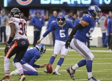 Robbie Gould missed two kicks against his former team.